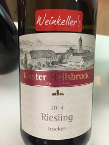 Kloster Heilsbruck Riesling Trocken 2014