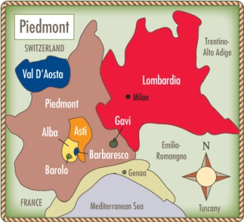 Italy-Piedmont-map