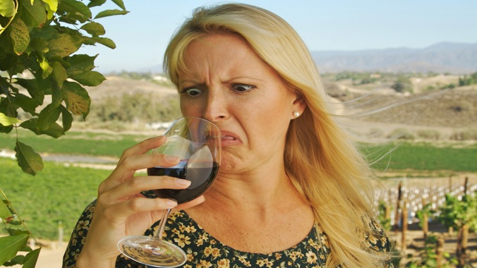 defeitos do vinho